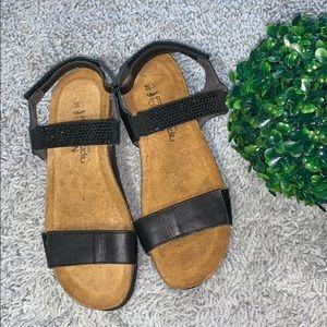 NAOT Lisa Crystal Embellished Sandal Size 38